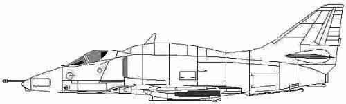 McDonnell Douglas A-4L Skyhawk