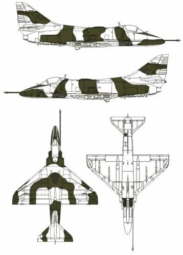 McDonnell Douglas A-4P Skyhawk