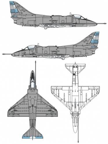 McDonnell Douglas A-4Q Skyhawk