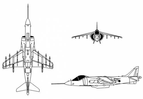 McDonnell Douglas AV-8B II Harrier