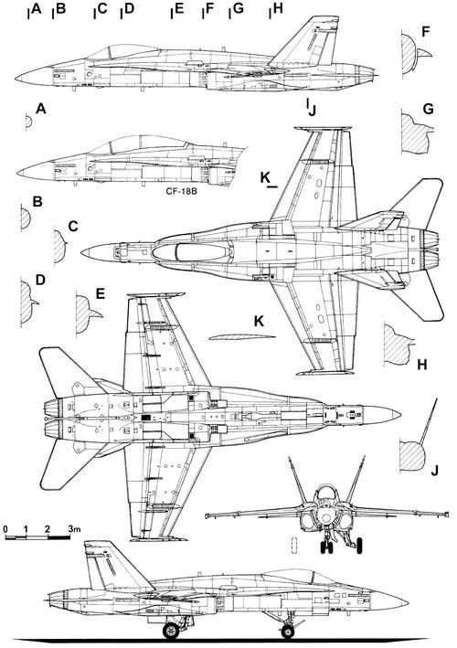 McDonnell Douglas CF-18A Hornet