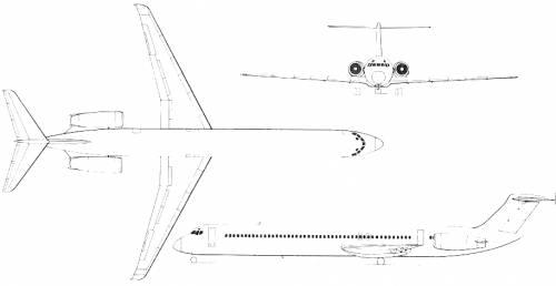 McDonnell Douglas DC-9 Super 80