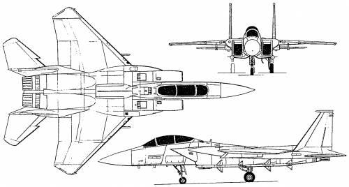 McDonnell Douglas F-15 Eagle (USA) (1972)