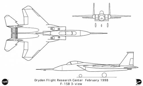 McDonnell Douglas F-15B