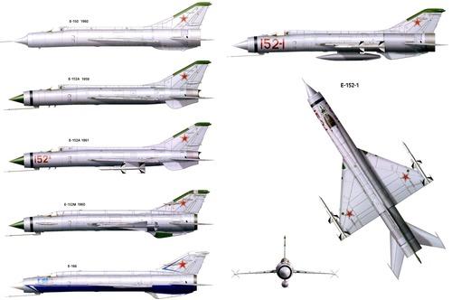 Mikoyan-Gurevich E-152-1