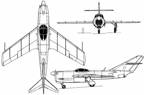 Mikoyan-Gurevich I-320 (Russia) (1949)