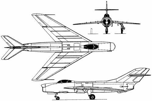Mikoyan-Gurevich I-350 (Russia) (1951)