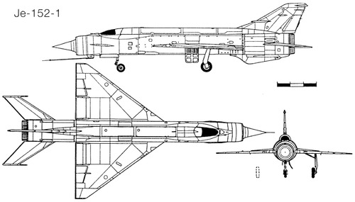 Mikoyan-Gurevich Je-152-1