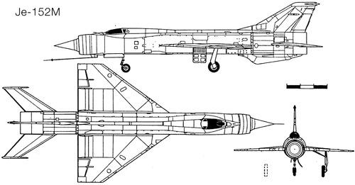 Mikoyan-Gurevich Je-152M