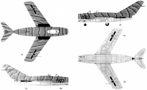 Mikoyan-Gurevich MiG-15 bis