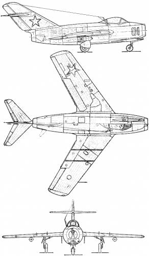 Mikoyan-Gurevich MiG-15 bis (Fagot)
