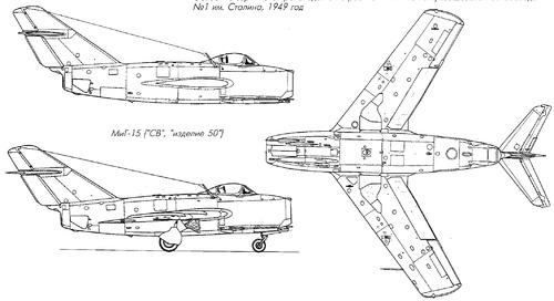 Mikoyan-Gurevich MiG-15 Fagot [6]