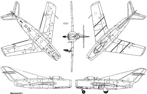 Mikoyan-Gurevich MiG-15 Fagot [8]