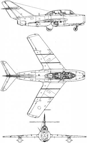 Mikoyan-Gurevich MiG-15 UTI (Midget)