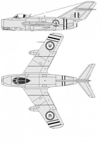 Mikoyan-Gurevich MiG-15bis Fagot