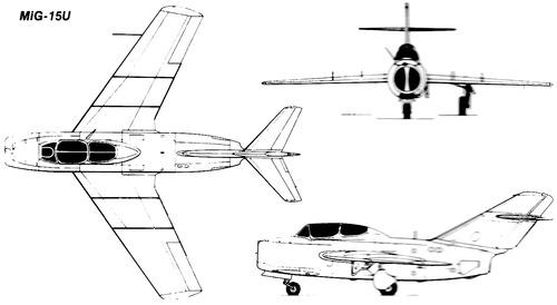 Mikoyan-Gurevich MiG-15U Midget