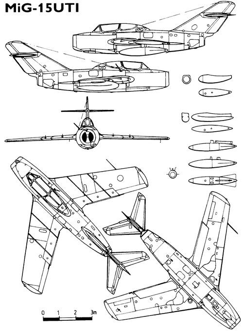 Mikoyan-Gurevich MiG-15UTI Midget