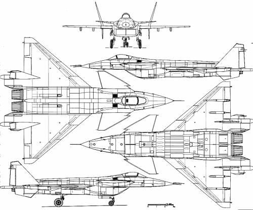 Mikoyan-Gurevich MiG 1.42 MFI