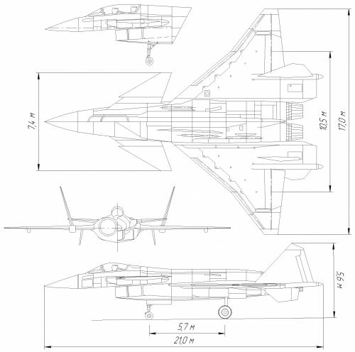 Mikoyan-Gurevich MiG 1.42 (multifunctional fighter project)