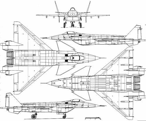 Mikoyan-Gurevich MiG 1.44
