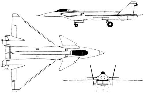 Mikoyan-Gurevich MiG-1.44 MFI
