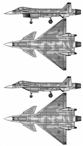 Mikoyan-Gurevich MiG 4.12 (light frontline fighter project)