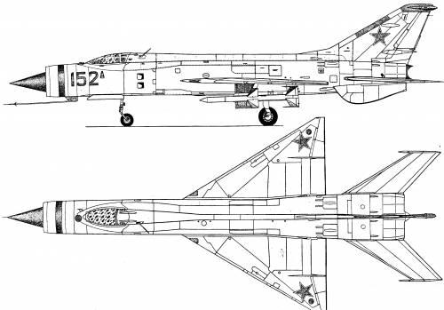 Mikoyan-Gurevich MiG E-152