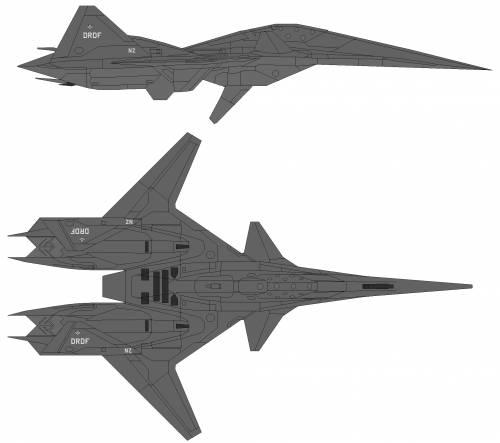 ADF-01F Falken Prototype Ace Combat 4