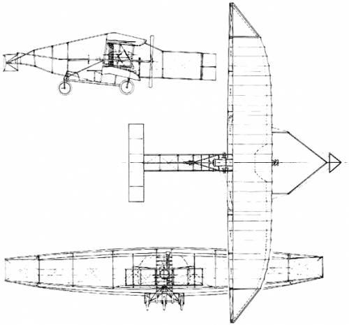 AEA Aerodrome No.4 Silver Dart (USA) (1908)