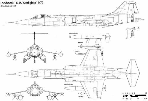Aeritalia Lockheed F-104S Starfighter