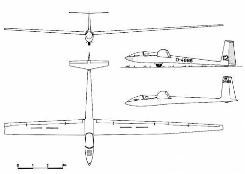 Akaflieg Darmstadt D-36 Circe