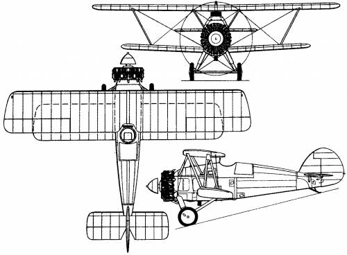 Armstrong Whitworth A.W.14 Starling (England) (1927)