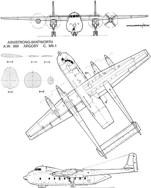 Armstrong-Whitworth AW.660 Argosy C.1