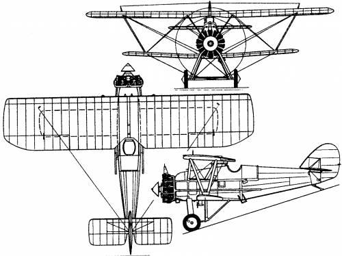Armstrong Whitworth Siskin IIIA (England) (1925)