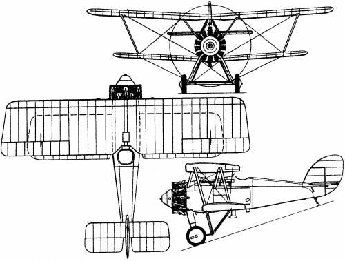Armstrong Whitworth Siskin V (England) (1925)