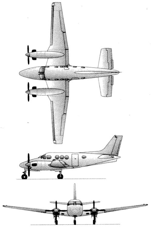 Beech King Air C90B
