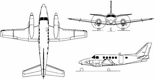 Beech Model 100 King Air (USA) (1969)