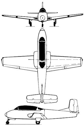 Beech Model 73 Jet Mentor