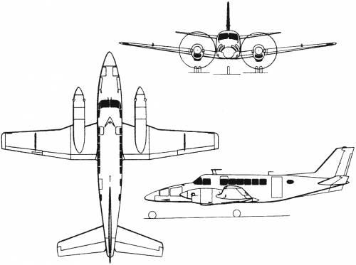 Beech Model 99 Airliner (USA) (1966)