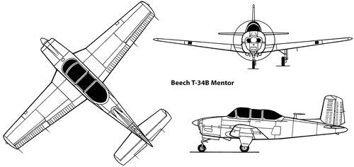 Beech T-34B Mentor