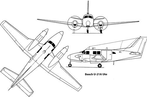 Beech U-21A Ute