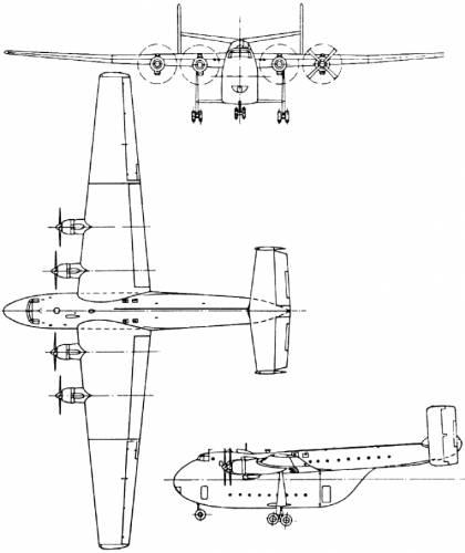Blackburn B-101 Beverley (England) (1949)