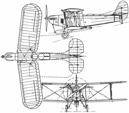 Blackburn T.5 Ripon (England) (1926)