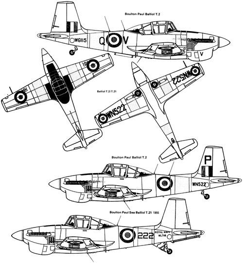 Boulton-Paul Balliol T.2