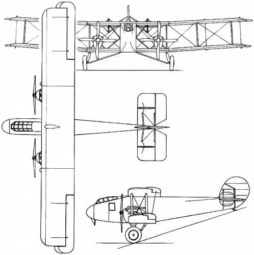 Boulton-Paul P.8 Atlantic (England) (1919)