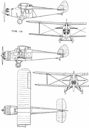 Bristol 110A (England) (1929)