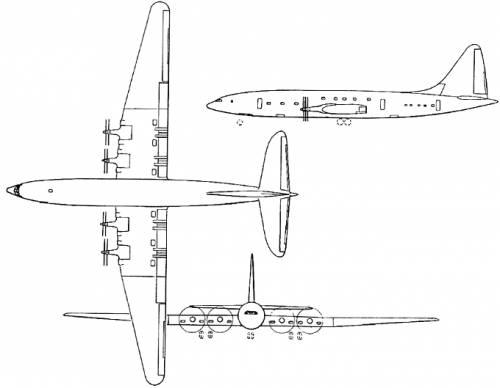 Bristol 167 Brabazon (England) (1949)