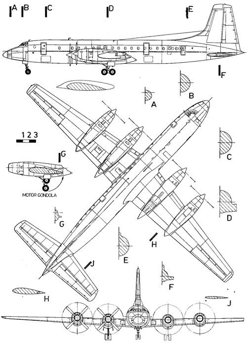 Bristol 175 Britannia