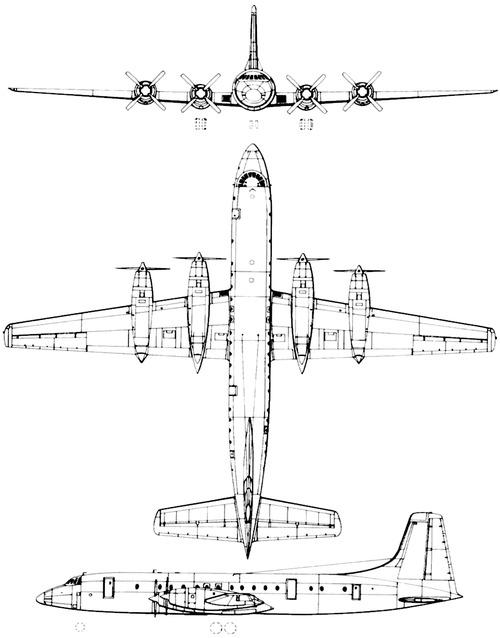 Bristol 175 Britannia BB-31B