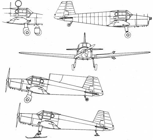 Bucker Bu-181 Bestmann